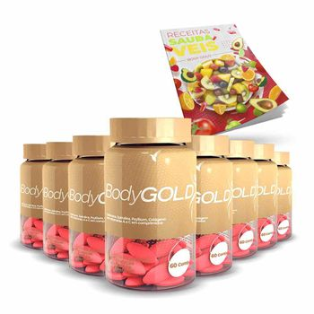 Kit Body Gold 480 - Cápsulas - 120 Dia...