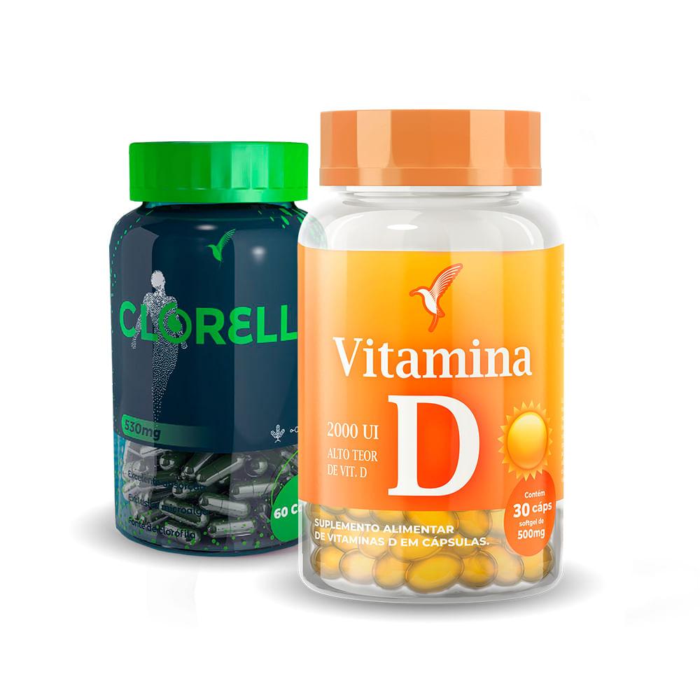 Clorella + Vitamina D