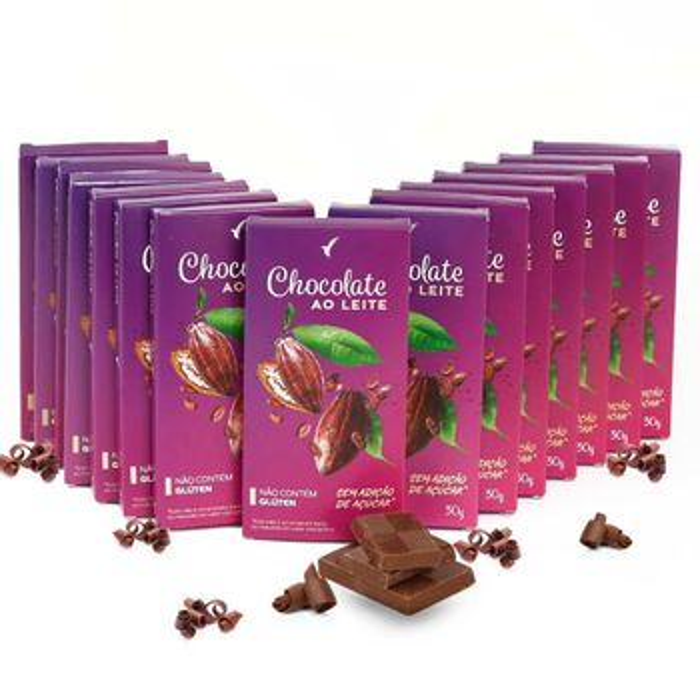 Chocolate Ao Leite com Colágeno 30g -...